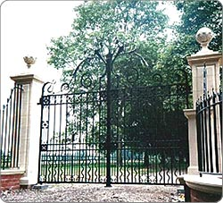 Victorain Gates -  Large Estate Entrance