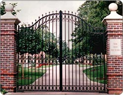 Rectory House -  Entrance Gates