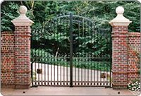 Georgian Estate Gates and Railings
