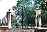 Victorian cast-iron Gates