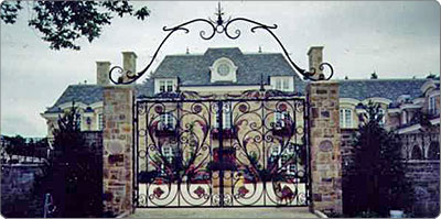 Reproduction Victorian Estate Gates